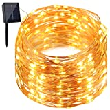 Amazon Price History for:GDEALER Solar String Lights 150LED 49ft Waterproof Starry Copper Wire String Lights Ambiance Lighting for Outdoor Landscape Patio Garden Home Christmas Party Wedding Warm White (1)