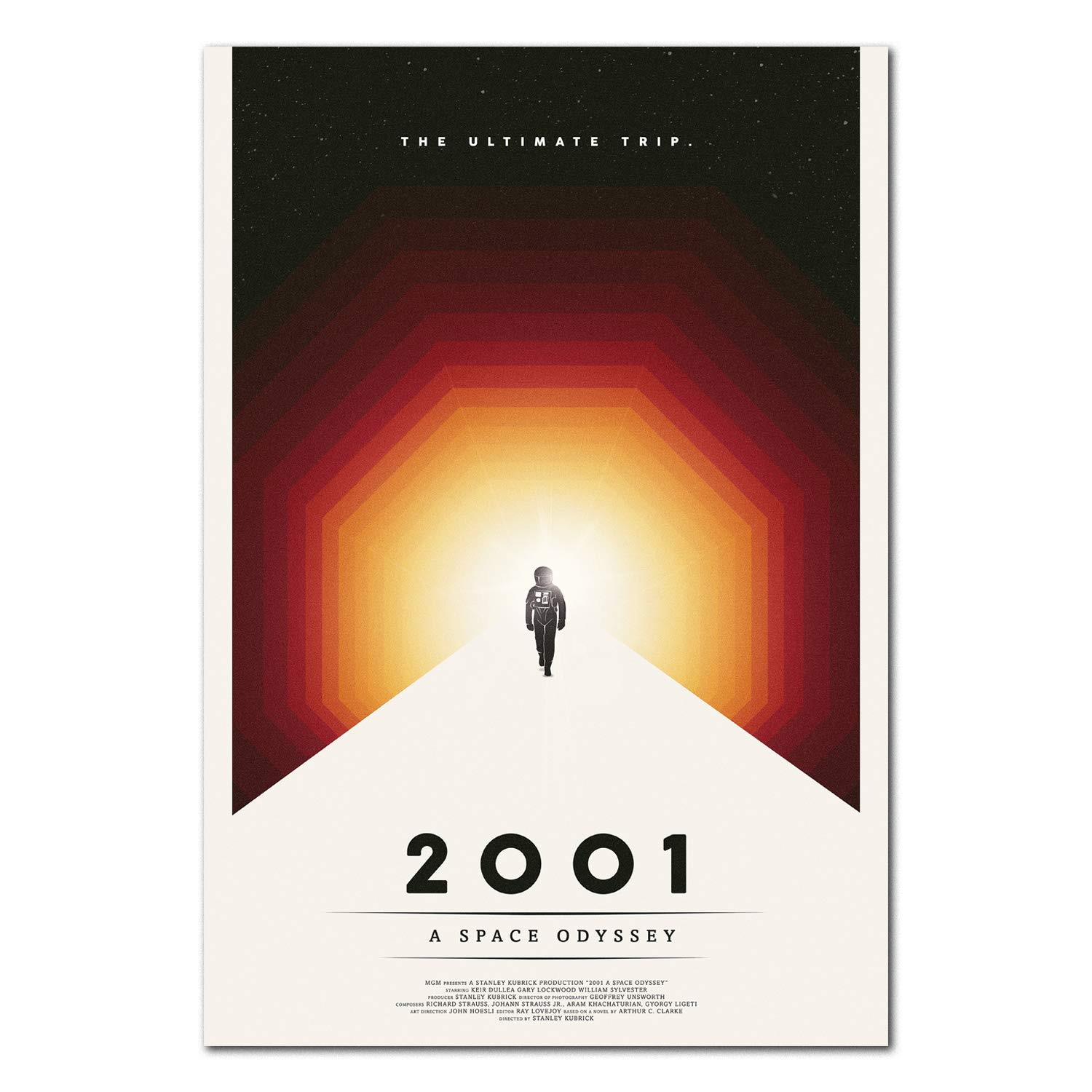 2001 A Space Odyssey Movie Poster (11x17)