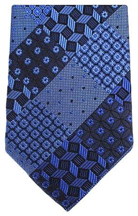 Knightsbridge - Corbata para hombre, diseño floral Azul azul Talla ...