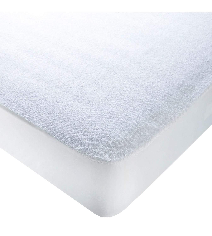 ADP Home - Protector de colchón Tejido Rizo Impermeable, Absorbente y Transpirable - Base de Poliuretano - Cama de 150: Amazon.es: Hogar