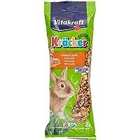 Vitakraft - Barritas Kräcker para Conejos, Sabor Miel y Sésamo - 2 uds x 112 g