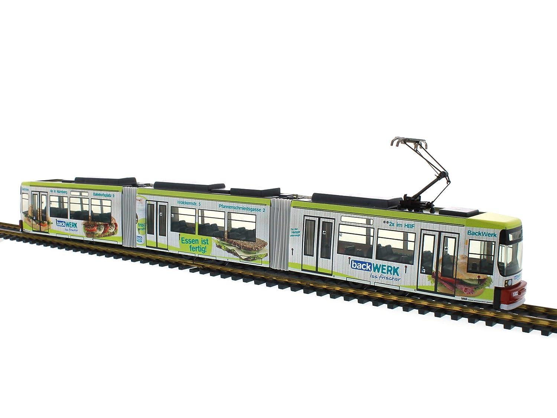 Rietze STRA01011 Adtranz GT6 VAG Nurnberg – Backwerke Bus Model