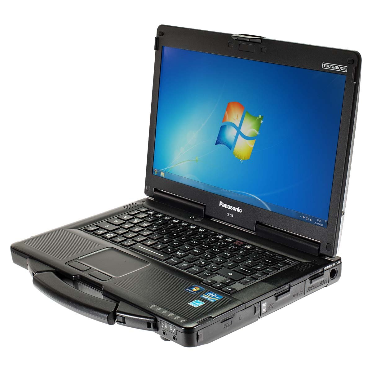 Outdoor portátil Panasonic ToughBook CF-53 i5 2,6 GHz 14 Pulgadas 256 GB SSD Windows7: Amazon.es: Informática