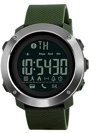 Amazon.com: Smartwatch Bluetooth Sport Mtifunction Big Face ...