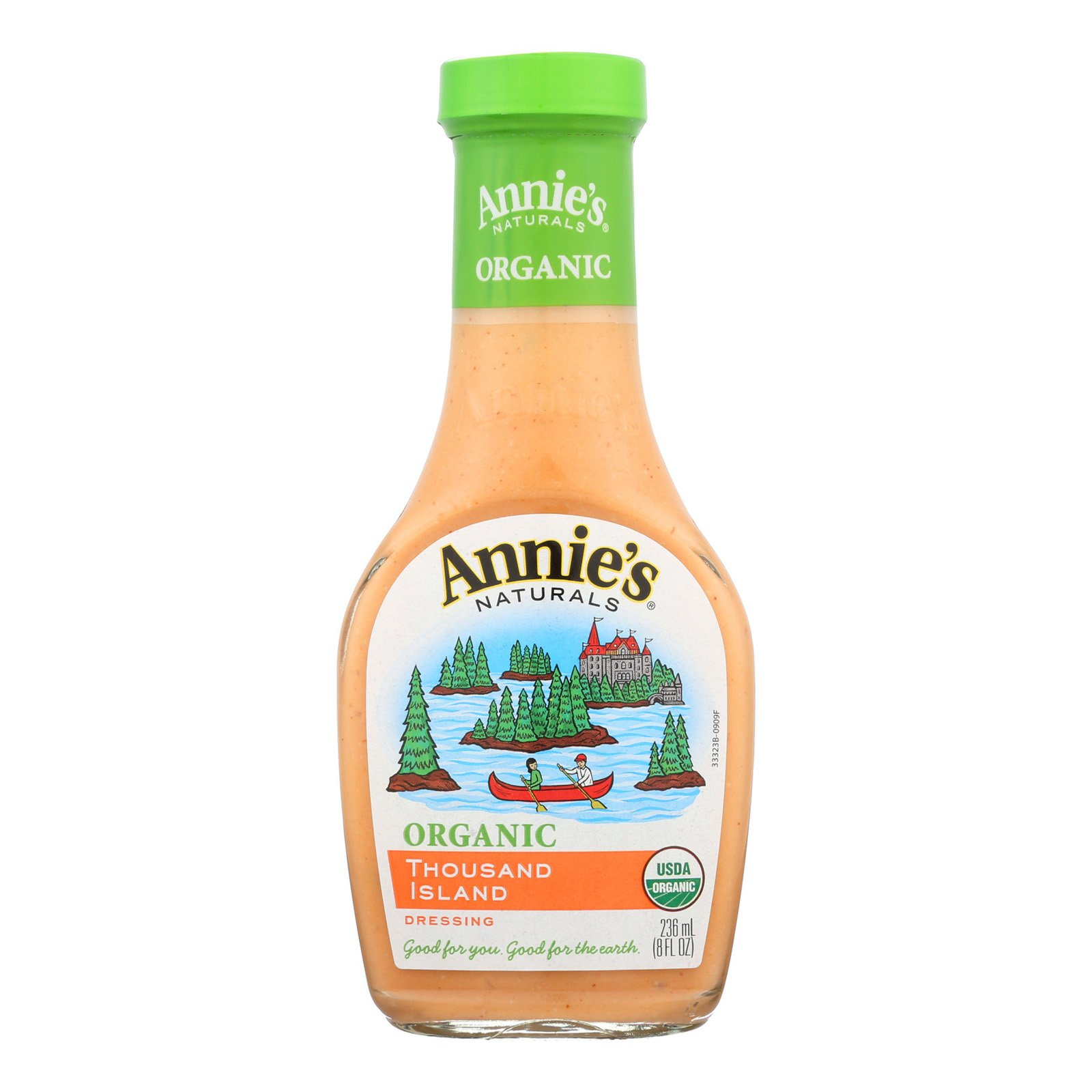 Annie's Naturals Organic Dressing Thousand Island - Case of 6-8 fl oz.