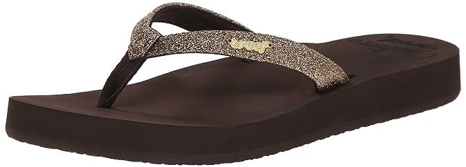 Reef Damen Star Cushion Sandalen, Braun (Bronze), 35 EU: Amazon.de: Schuhe  & Handtaschen
