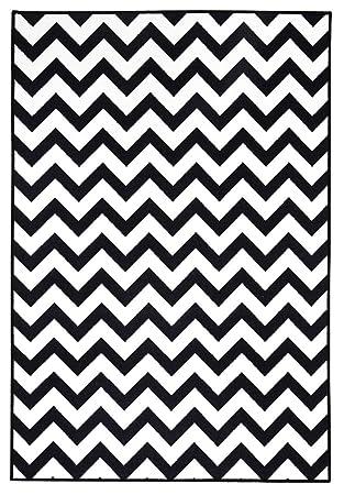 Teppich läufer schwarz weiß  Designer Teppich Michael Michalsky Greenwich, Teppich in 3 ...