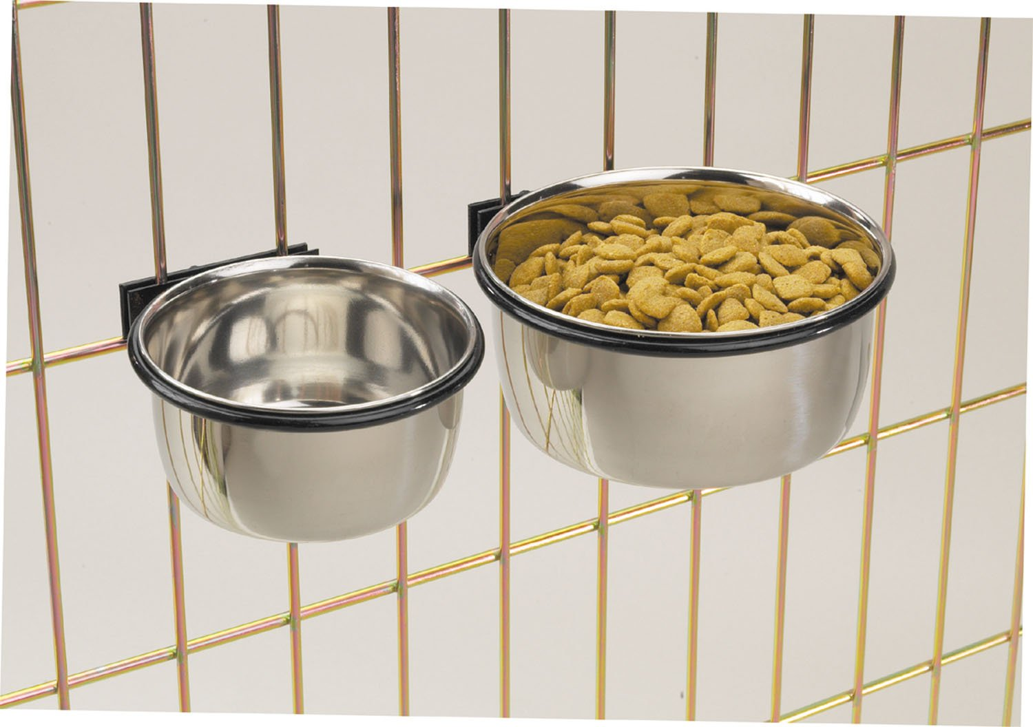 ProSelect Stainless Steel Coop Cups — Versatile Coop Cups for Pet and Animal Cages, 16-Ounce