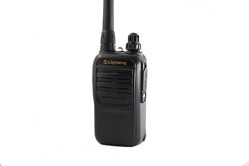 LISHENG LS-V2 2W Mini Analog Portable Two Way Radio Black, Set 1