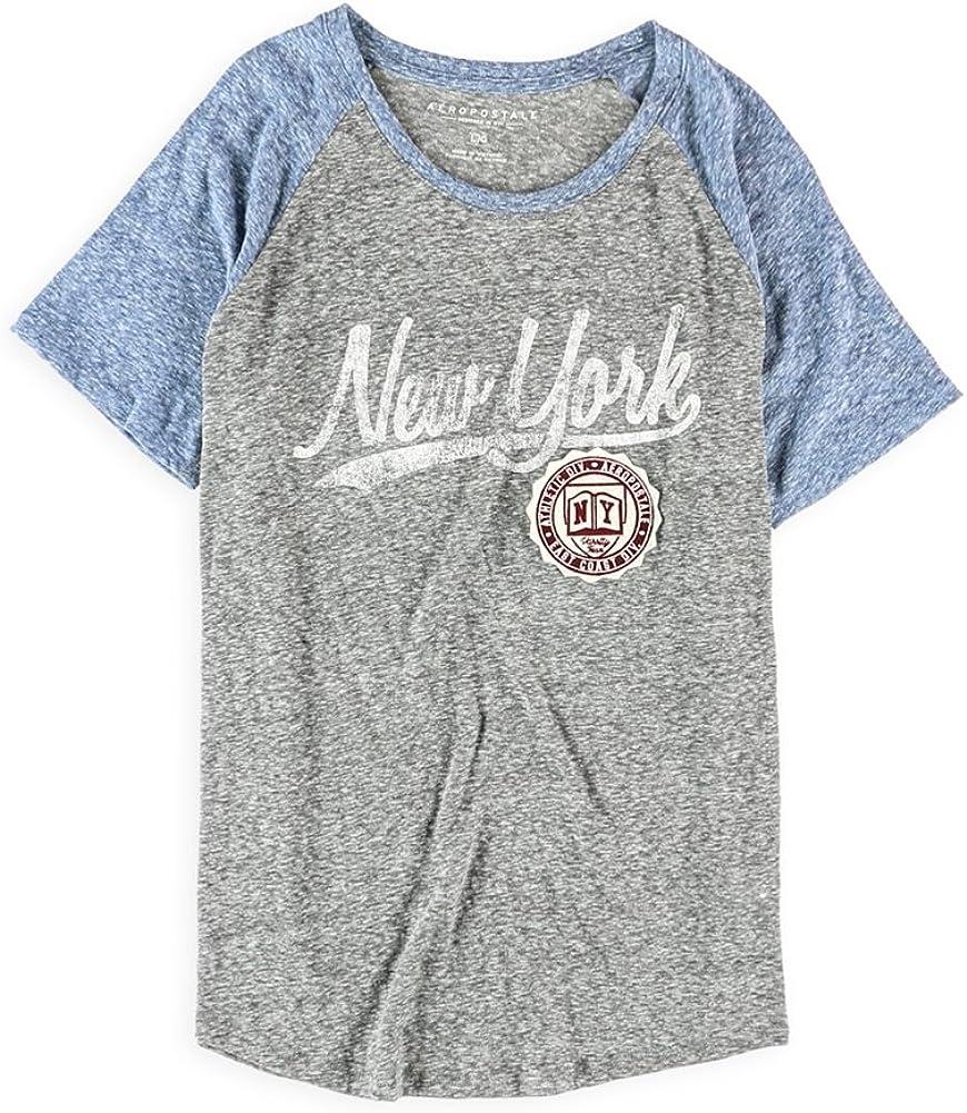 Aeropostale Womens Logo Ny Embellished T-Shirt