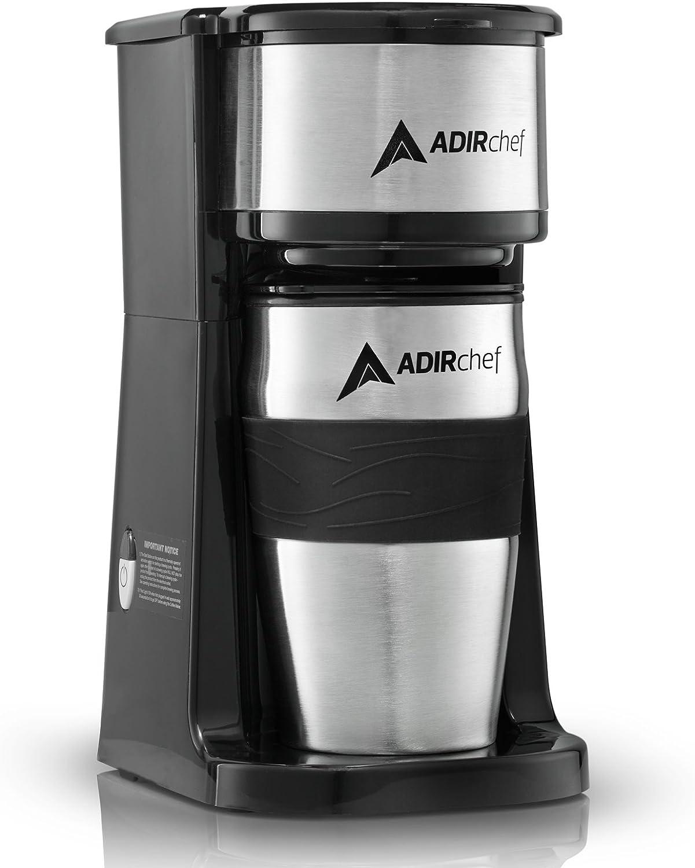 Amazon.com: AdirChef cafetera personal listo para llevar ...