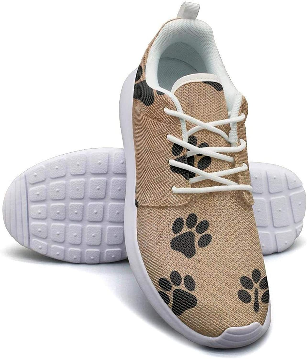 Puppies Dog Pattern with Pet Cute Dogs Womans Canvas Casual Shoes Sneakers Care Tennis Shoes