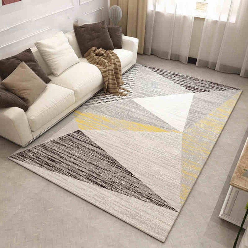 WAN SAN QIAN- Children Bedroom Carpet Nordic Carpet Living Room Carpet Sofa Rug Home Economy Rectangle Polyester Rug Rug ( Color : C , Size : 160x230cm )
