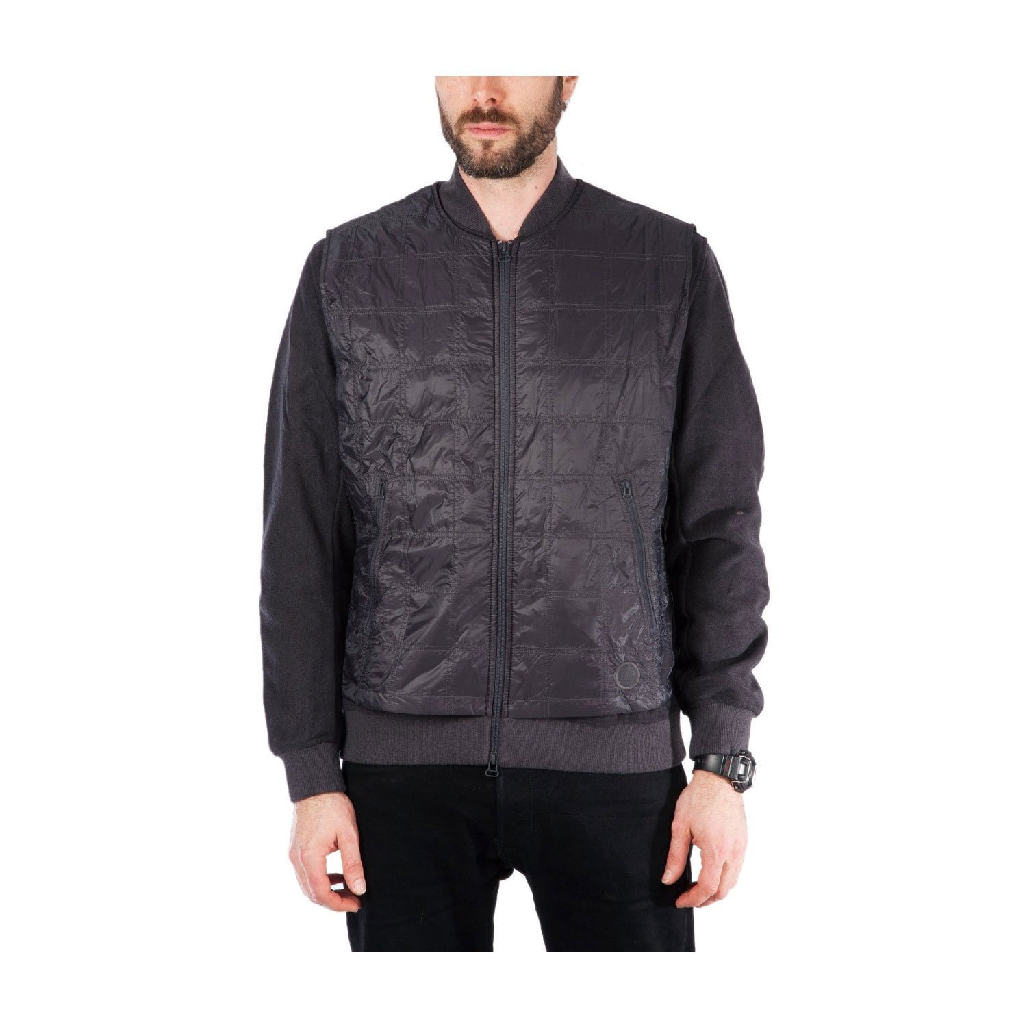 adidas x Wings + Horns Men's Bomber Jacket Black BR0170 (Size: L) by adidas