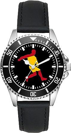 Reloj L-2240 con diseño de la Bandera de España: Amazon.es: Relojes