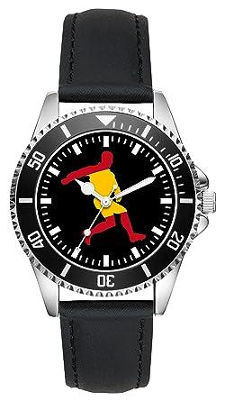 ESPAÑA FOOTBOL EM WM Regalo Artículo Idea Fan Reloj L-2240: Amazon ...