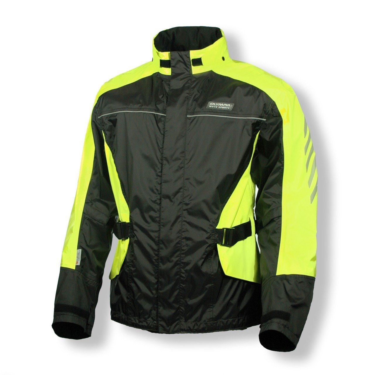 Amazon.com: Olympia Horizon Adult Rain Jacket Street Motorcycle ...