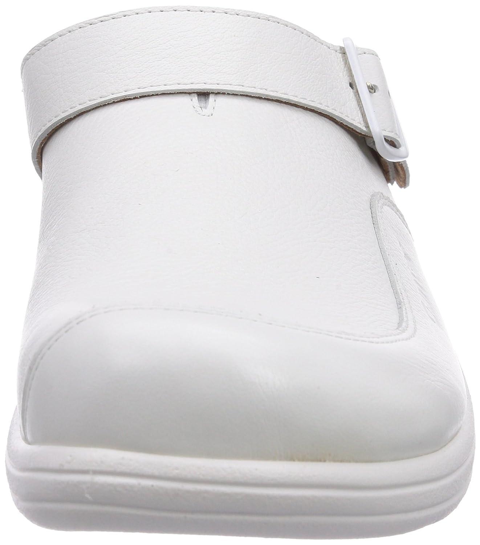 Ganter Aktiv Gero, Weite G, Zuecos para Hombre, Gris-Grau (Weiss 0200), 45 EU: Amazon.es: Zapatos y complementos