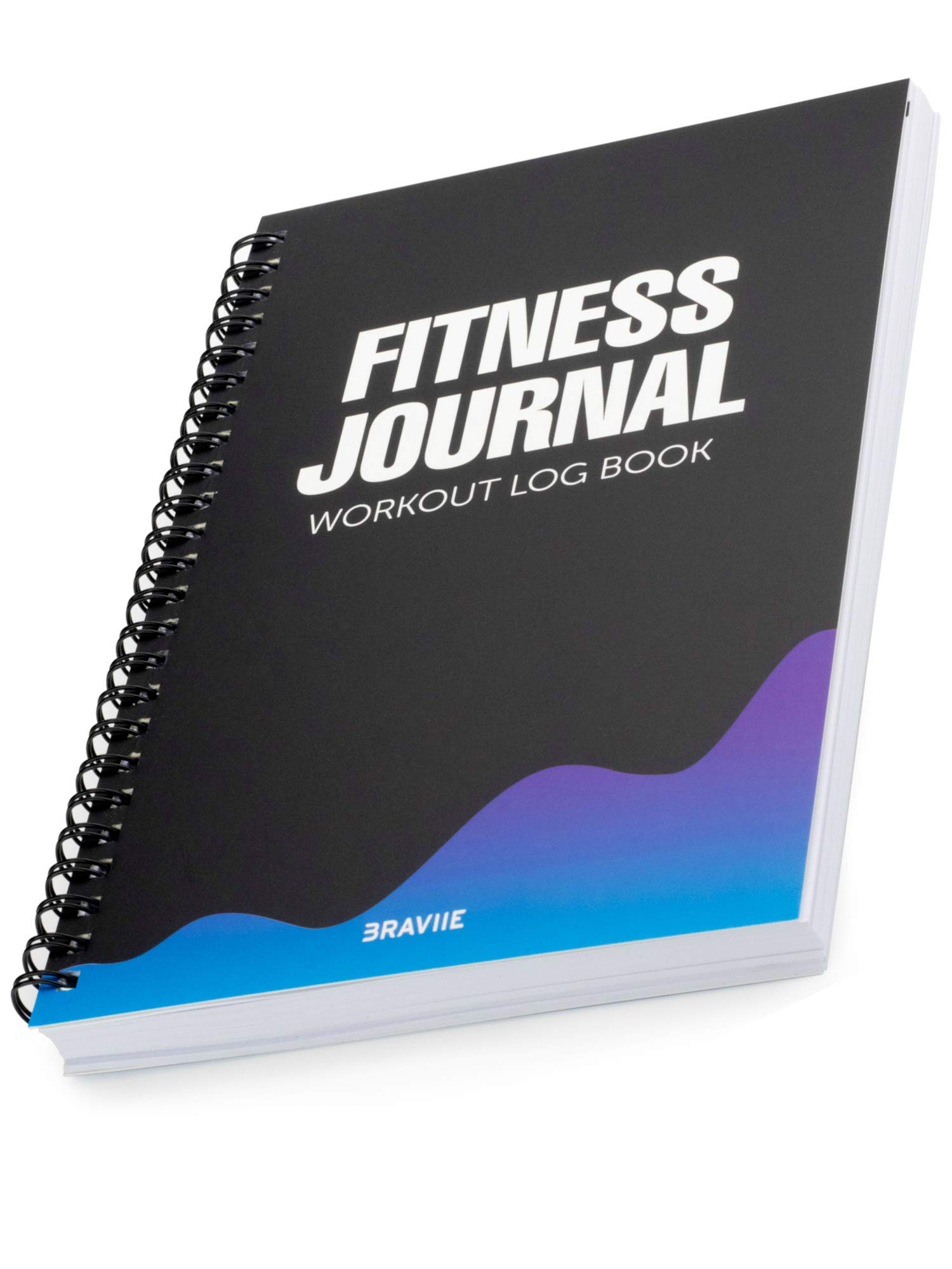 Detailed Fitness Journal with Built in Planner and Workout Log Book – Easily Tracks All Your Training On Our Easy Write…