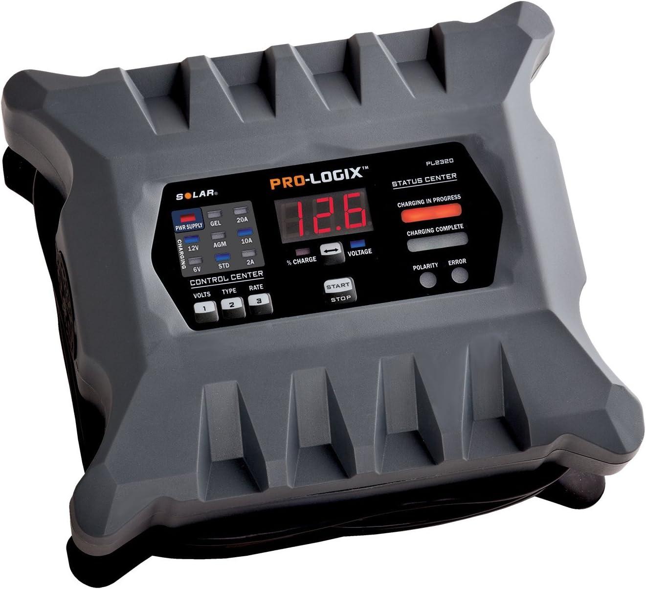 Clore Automotive PL2320 6/12V Battery Charger/Maintainer-20 Amp