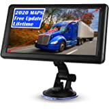 GPS Navigation for Car Truck 9 inch Lorry HGV GPS Navigation with Speedometer Speeding Camera Warning, Voice Guidance Lane,Li