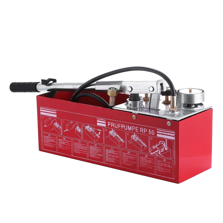 VEVOR Hydrostatic Test Pump 50 Bar Hand Pressure Test Pump