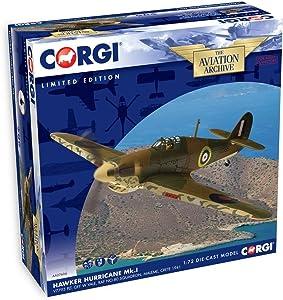 Corgi Boys Hawker Hurricane Diecast Military Aviation
