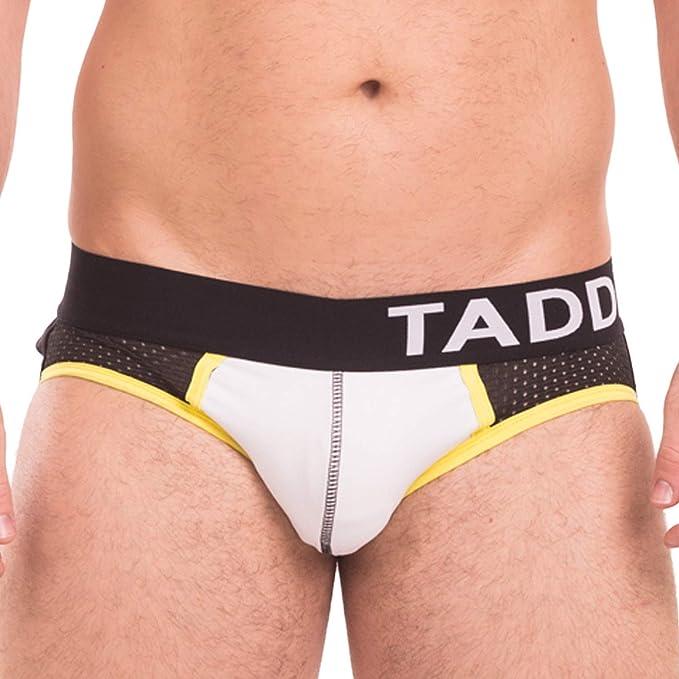 08ae54e49195 Taddlee Sexy Jocks Underwear Men Jockstraps Gay Bikini Briefs Strings  Backless (S) White
