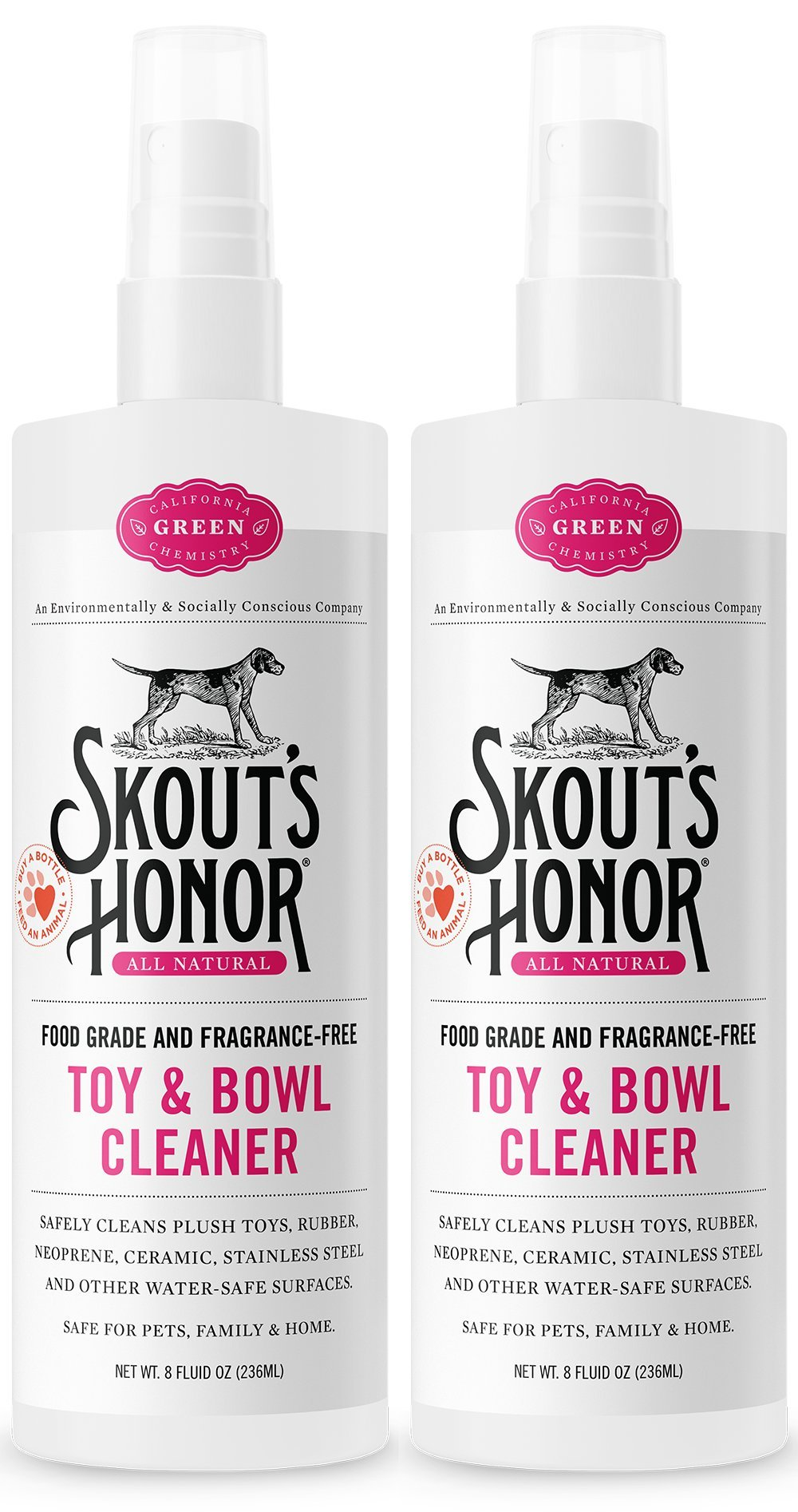 SKOUT'S HONOR Professional Strength Toy and Bowl Cleaner