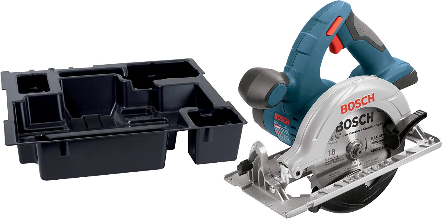 CCS180BN Bare-Tool 18-Volt Lithium-Ion 6-1 2-Inch Circular Saw and Exact-Fit Tool Insert Tray