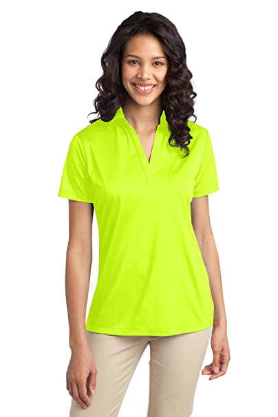 02cb20a5 Port Authority Ladies Silk Touch Performance Polo. L540 at Amazon Women's  Clothing store: