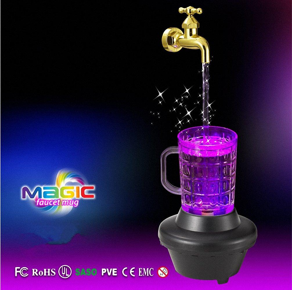 Amazon.com: Magic Faucet Mug (Floating Fountain Faucet) - Magic ...