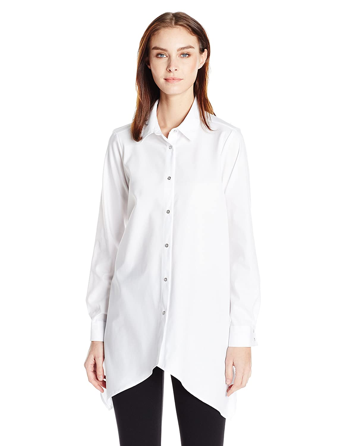 Calvin Klein Women's Shirting W/ Sharkbite