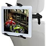 Lictin Headrest Tablet Car Holder, Car Seat Mount/Cradle/ Holder ,Adjustable 360-degree Rotating Car Holder for iPad 2/3/4 / Mini / Air 2/Pro(9.7 inch), Samsung Galaxy Tab, Google Nexus and other 6-12 inches Tablets