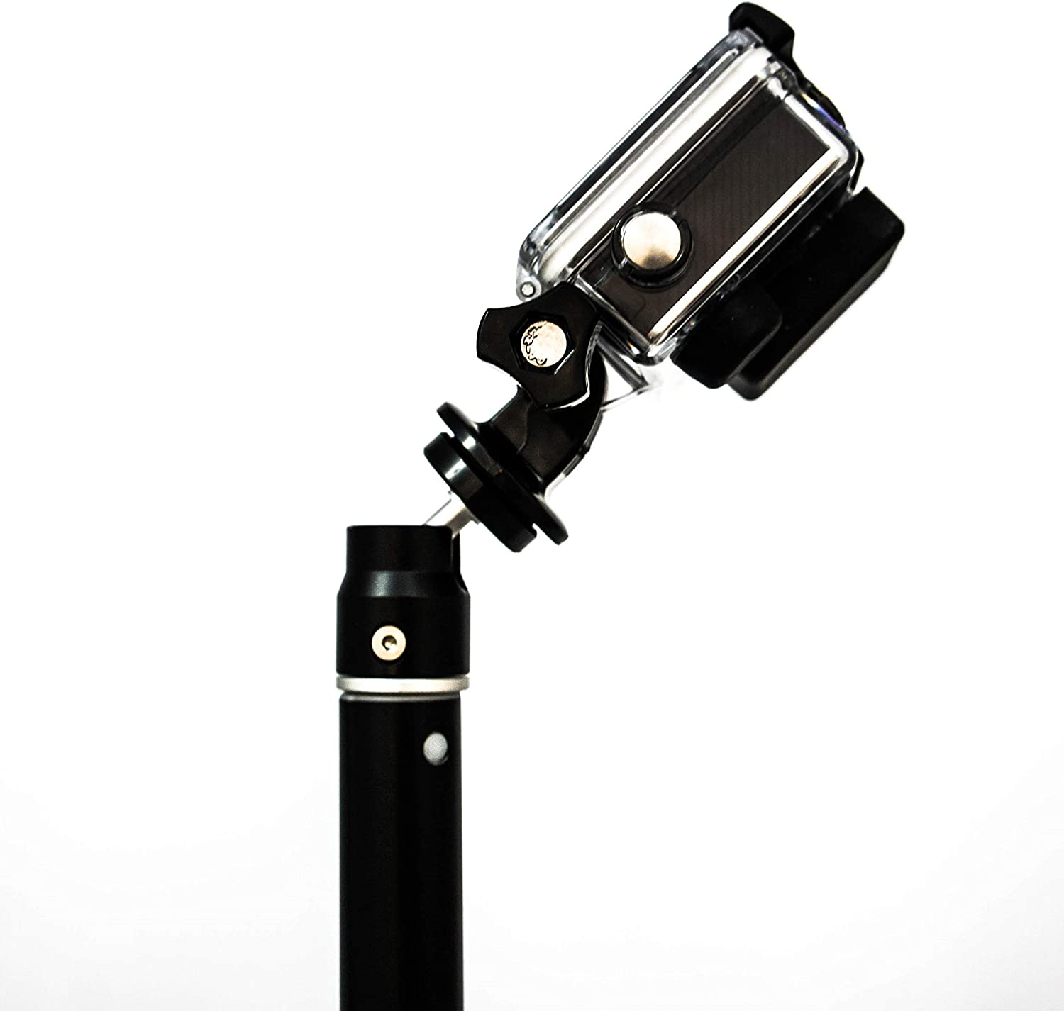 PRO MOUNTS TwinPole 2 in 1 Telescopic Pole and Floatable Handle Grip Compatible with All Major GoPro and Action Cameras