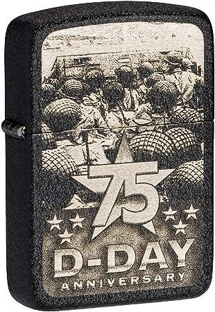 Zippo Día D 75 Anniversary Encendedor: Amazon.es: Deportes y aire ...