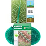 BARGAINS-GALORE 15M SOAKER HOSE PIPE GARDEN DRIP IRRIGATION WATERING SPRINKLER LAWN PLANTS NEW