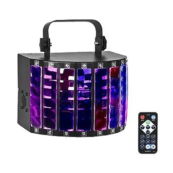 Led Lampe Scène Pour Eyourlife Soirée Ktv 9 Projecteur De Éclairage Dmx Vocale 512 Disco Couleurs Dj Automatique Télécommande Lumière 4AqLjR35