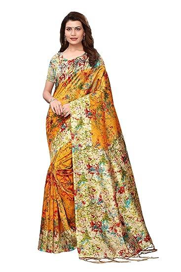 abd2e26a45 Saree For Women Party Wear Half Sarees Offer Designer Below 500 Rupees  Latest Design Under 300 Combo Art Silk ...