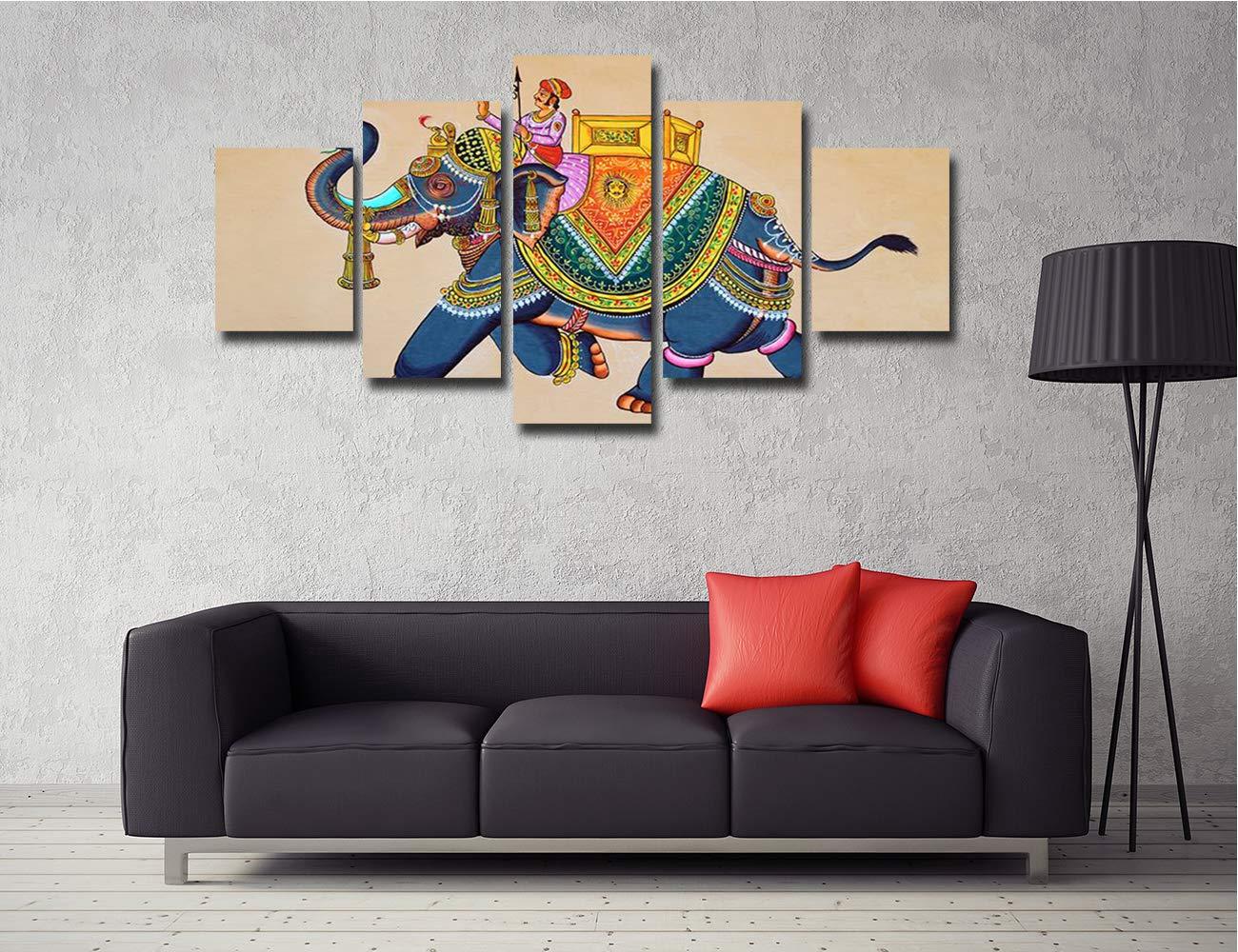 Amazon.com: Lienzo decorativo para pared, diseño de elefante ...