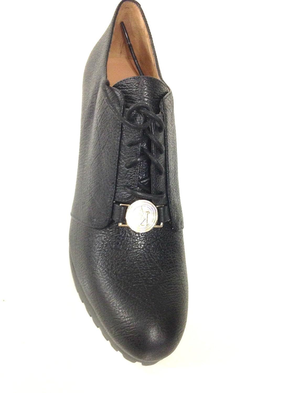 Armani Scarpe Donna PARIGINA Jeans Tacco 90 PL 25 Pelle Nera D15AJ12   Amazon.it  Scarpe e borse 215deb9778c