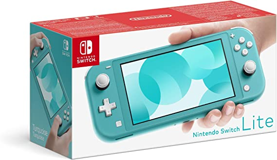 Nintendo Switch Lite - Consola Azul Turquesa: Nintendo: Amazon.es: Videojuegos