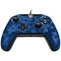 PDP - Mando con cable para Xbox One (color azul)