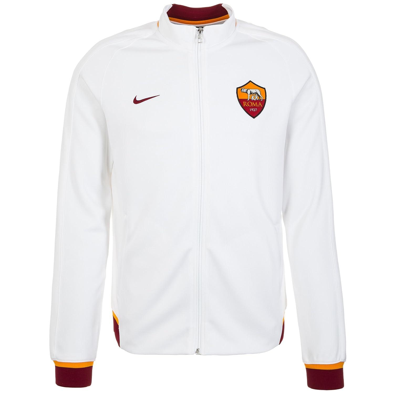 2015-2016 AS Roma Nike Authentic N98 Jacket (White): Amazon.es ...
