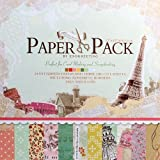 Eno Greeting Decorative Card Making Scrapbooking Paper Pack (24 Patterned Sheets + 3 Die Cut Sheets)