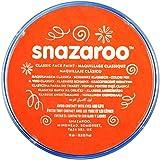 Snazaroo Face and Body Paint, 18 ml - Dark Orange (Individual Colour)