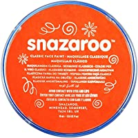 Snazaroo Classic Face Paint, 18ml, Dark Orange