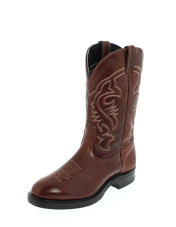 ed6e1aa4a55 Boulet Men's 2110 Cowboy Boots Brown Size: 8: Amazon.co.uk: Shoes & Bags