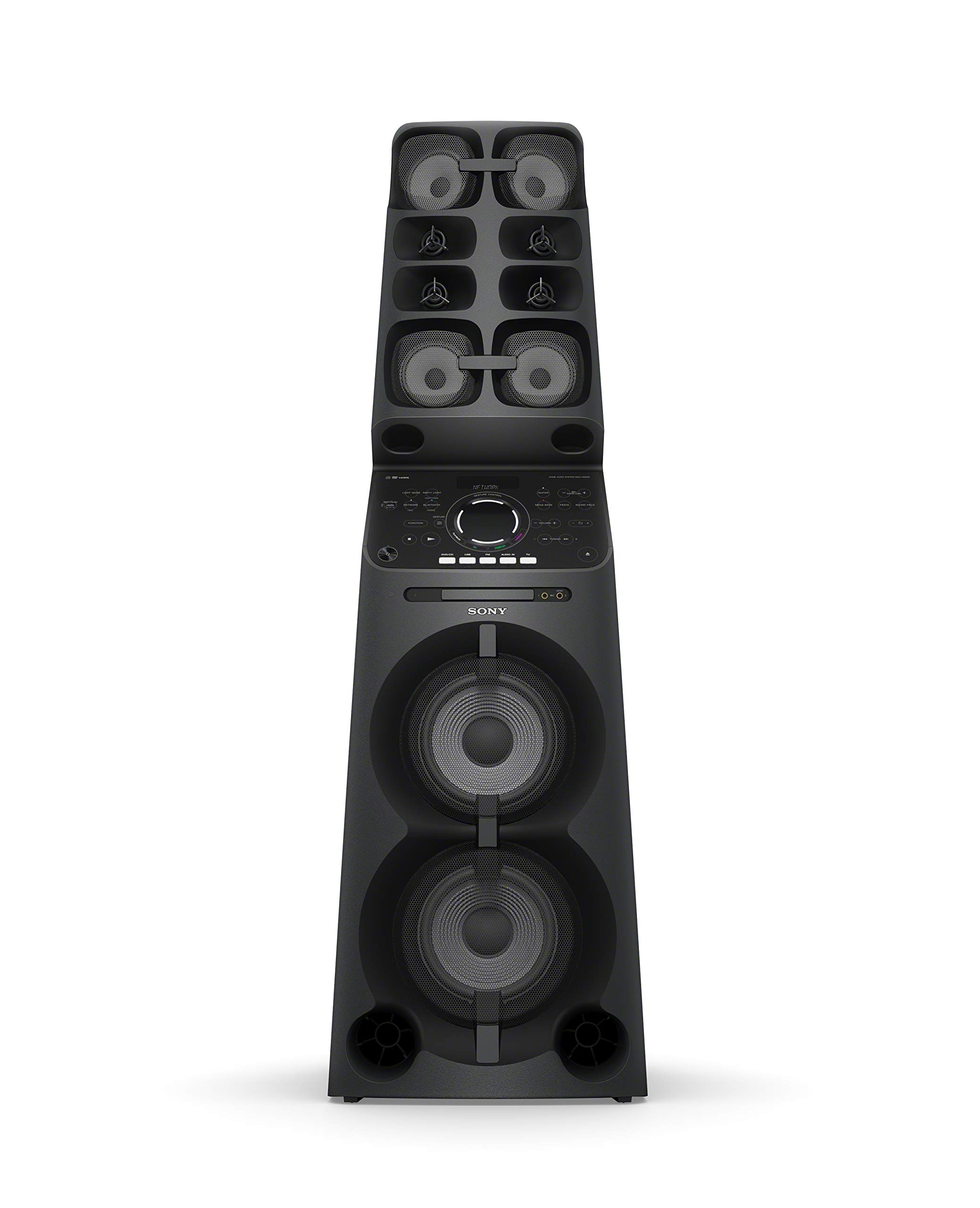 Sony MHC-V90DW, High Power Party Speaker. All-in-One Music System with Lighting Effects