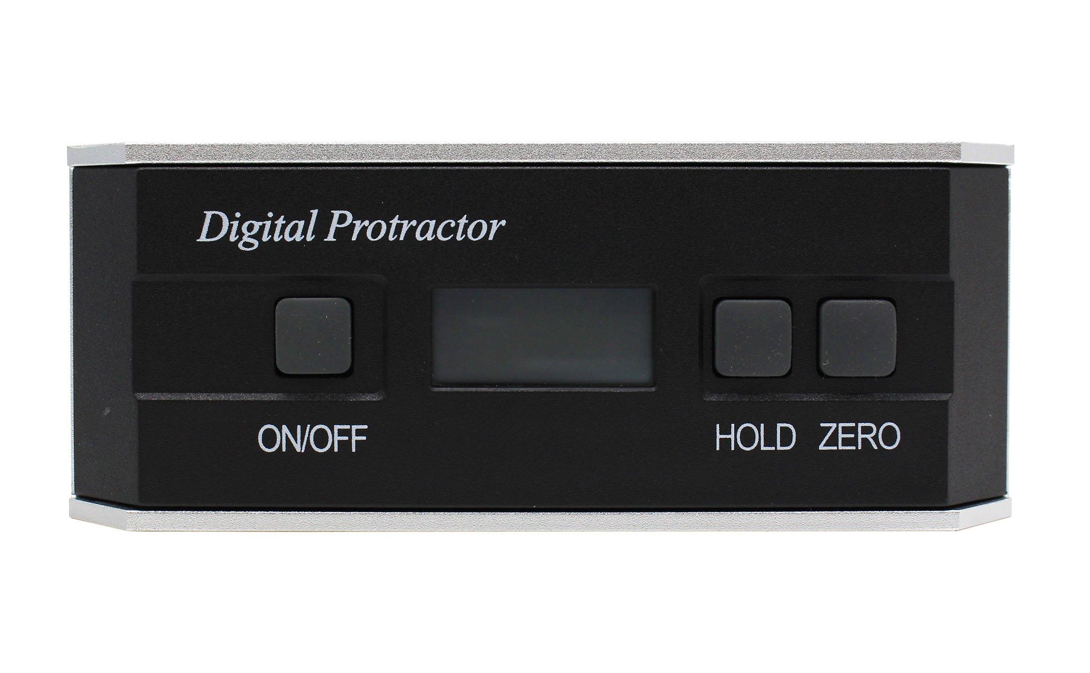 Angle Finder Angle Sensor Technology Tilt Digital Protractor Level Inclinometer Measuring tools Backlight 360 Degree with Magnetic V-groove